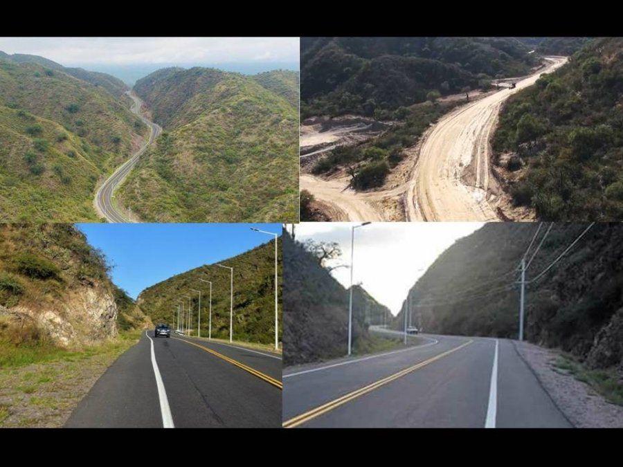 Catamarca cuenta, desde hoy, con otra via interdepartamental: la Quebrada de Moreira