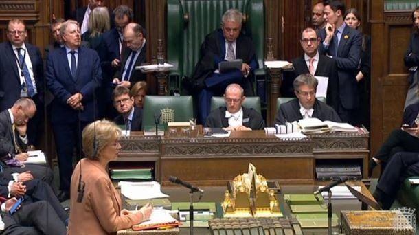 La Cámara de los Comunes aprueba una ley para impedir un brexit sin acuerdo