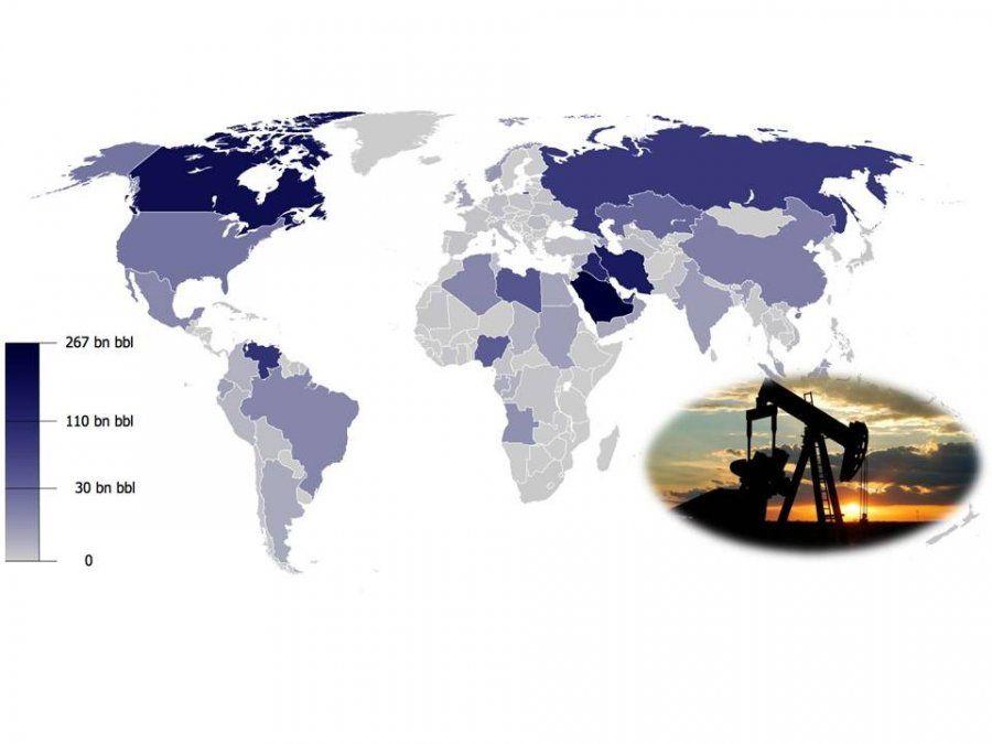 Cuáles son los países con mayores reservas de petróleo y por qué esto no siempre es señal de riqueza