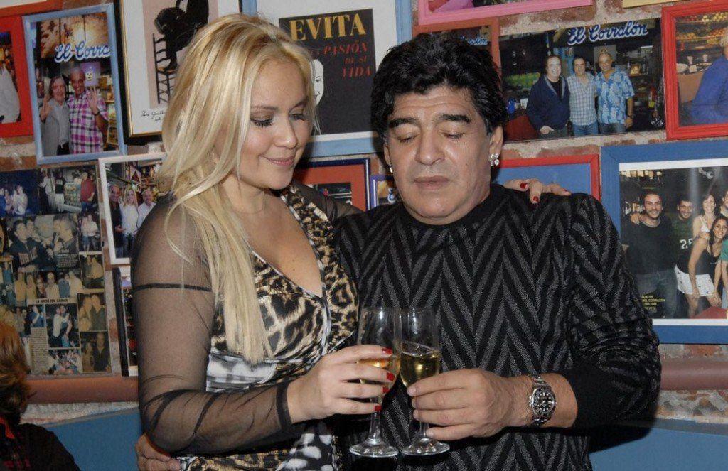 Otra vez juntos: Diego Maradona y Verónica Ojeda