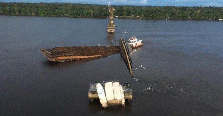 Un puente colapsó en el norte de Brasil
