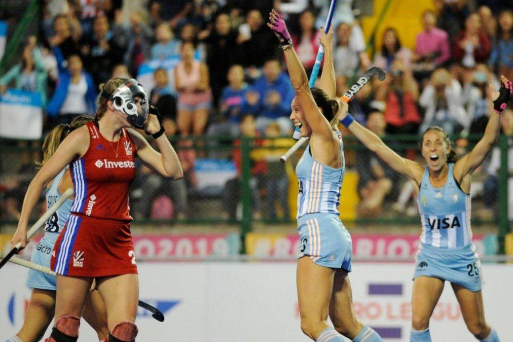 Las Leonas superaron 4-2 a Gran Bretaña en Rosario