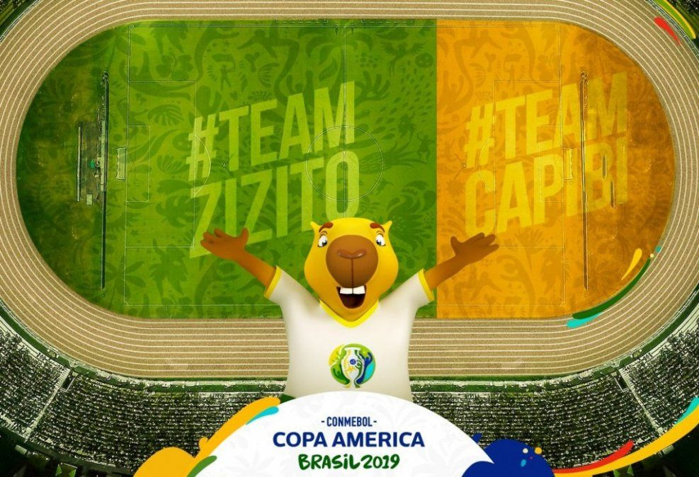 Se elegirá el nombre de la mascota de la Copa América por Facebook e Instagram