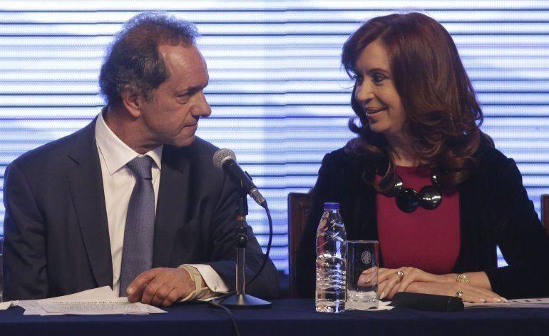 Voy a ser candidato a presidente, independientemente de lo que haga Cristina