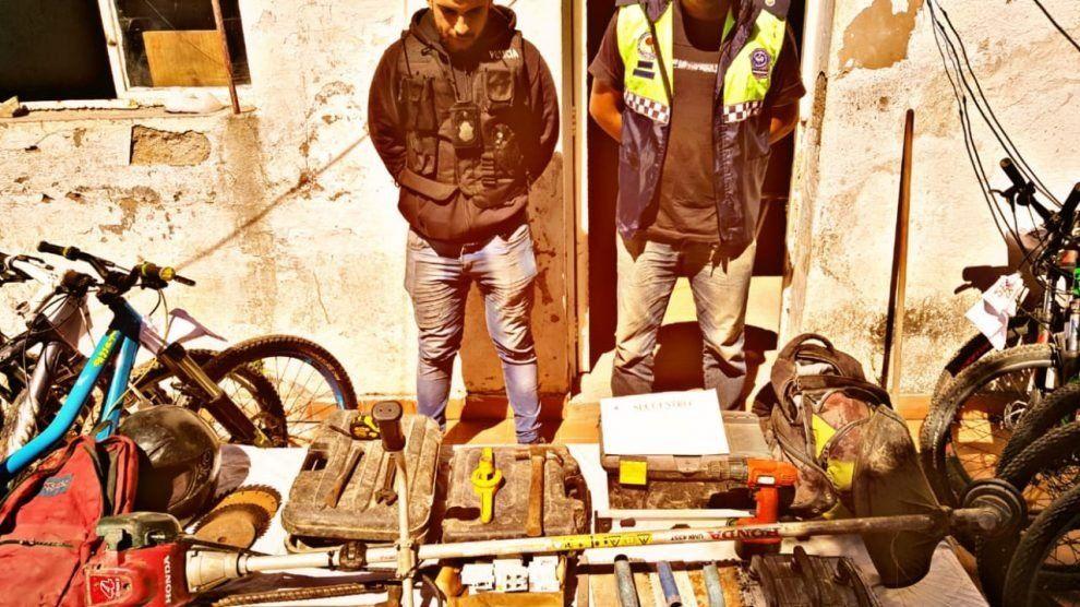 Yerba Buena: Recuperaron elementos de trabajo robados