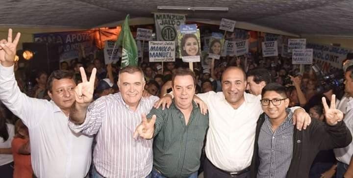 Jaldo y Manzur participaron del lanzamiento de Manolo Fernández como candidato a intendente
