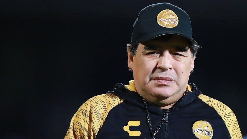 Maradona, multado por sus dichos sobre Maduro y Trump
