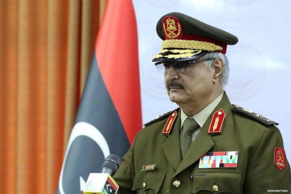 Jalifa Haftar, el general renegado que tiene a Libia al borde de la guerra