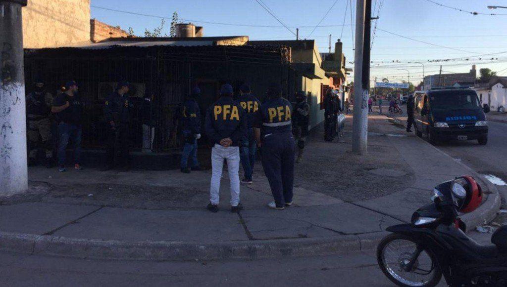 Allanamientos: Una banda narco internacional cae en la provincia