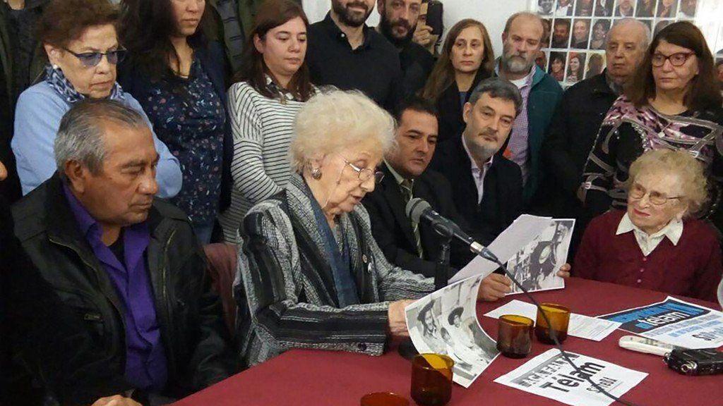 Abuelas de Plaza de Mayo recuperó a la nieta 129