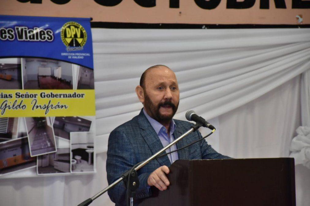 Gildo Insfrán anunció que Formosa también desdobla su elección