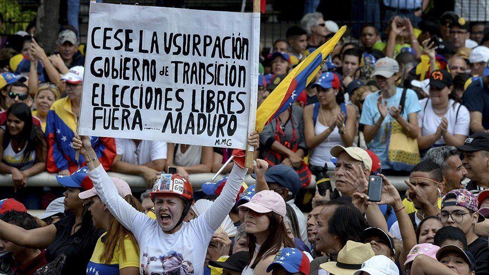 Guaidó convocó a nuevas protestas en contra de Maduro