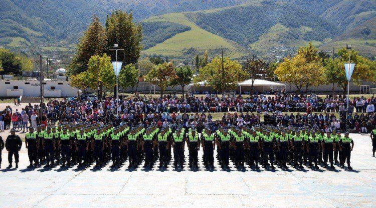 Finalizó el ciclo lectivo para aspirantes a agentes policiales en Tafí del Valle