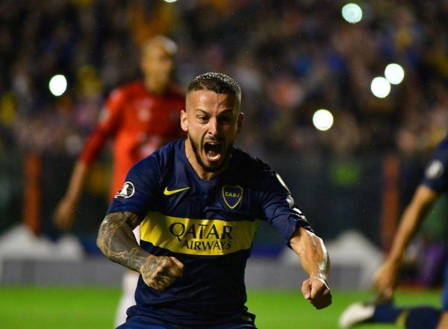 Boca goleó 4-0 a Wilstermann y se encamina en la Copa