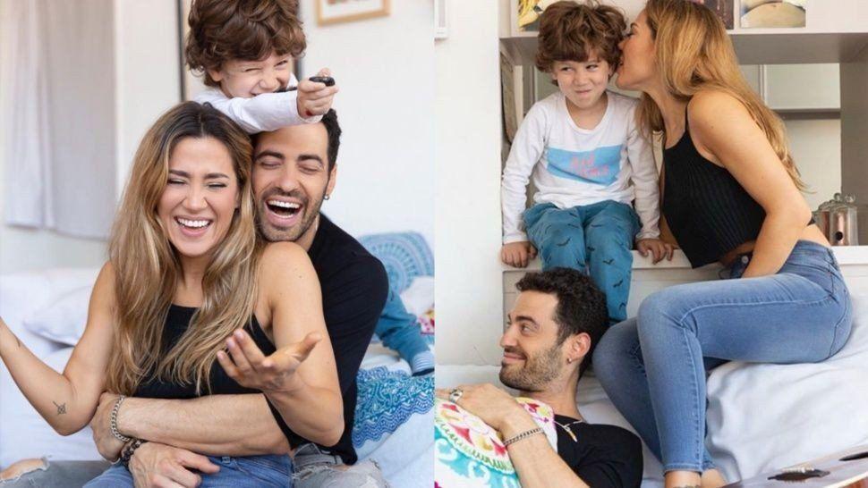 Mauro Caiazza se quedó varado en Brasil, mientras viajaba con Jimena Barón y Momo a Disney