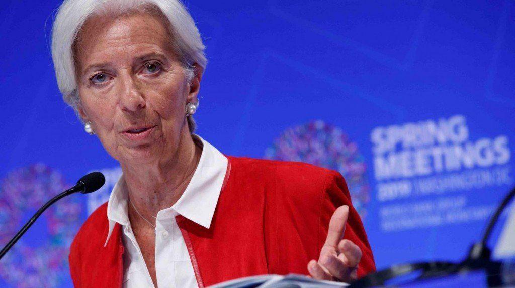 Lagarde les envió una advertencia a los presidenciales