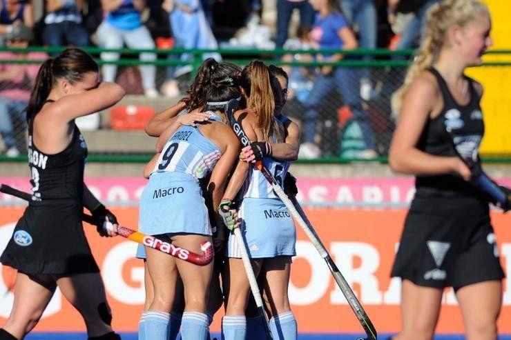 Pro League: Las Leonas derrotaron a Nueva Zelanda en Rosario