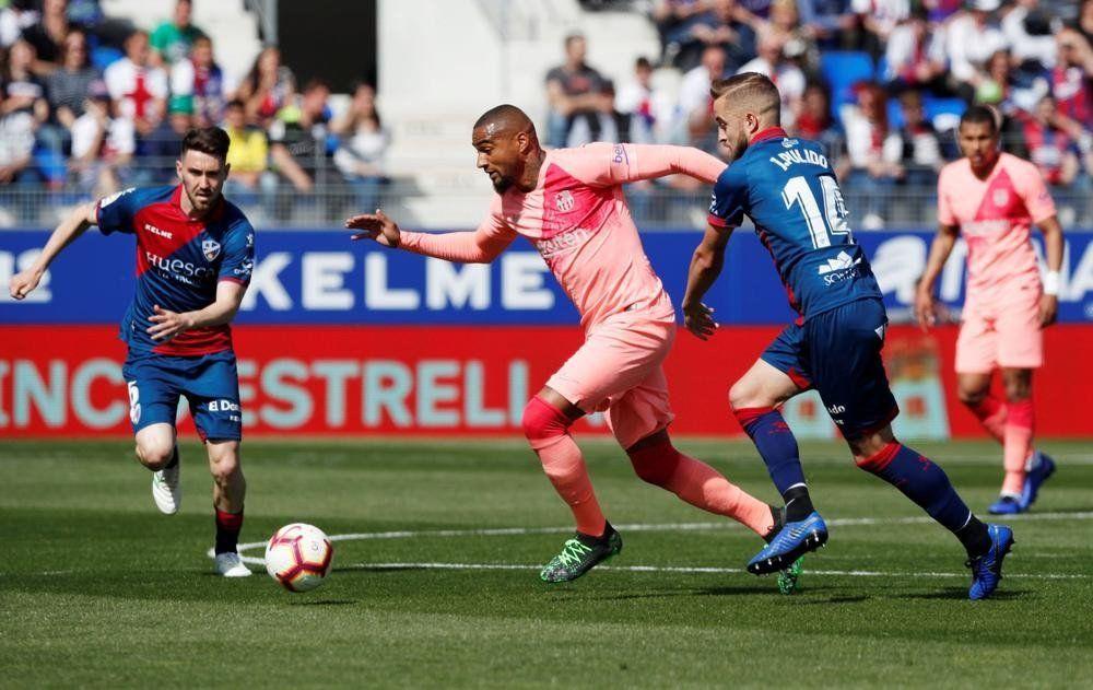 Liga española: Sin Messi, Barcelona empató con Huesca