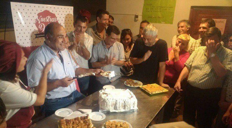 Manzur participó de los festejos de la Fundación Los Lapachos