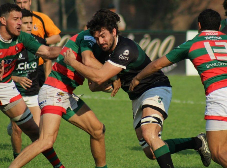 Tucumán Rugby a paso firme: ganó y sigue puntero