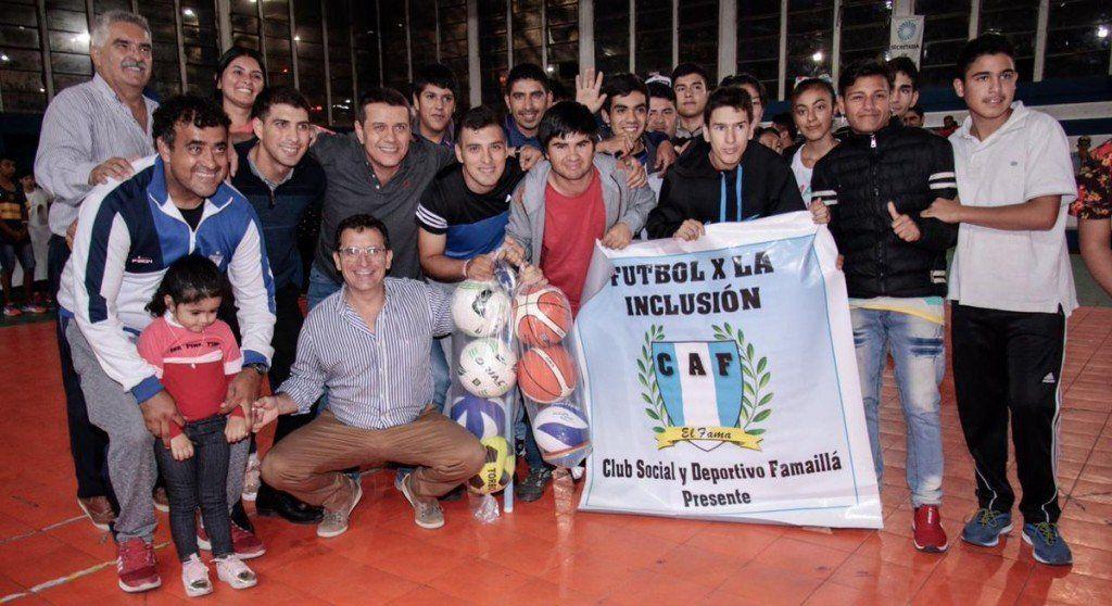 El deporte adaptado tuvo su jornada de fomento en el Complejo Belgrano