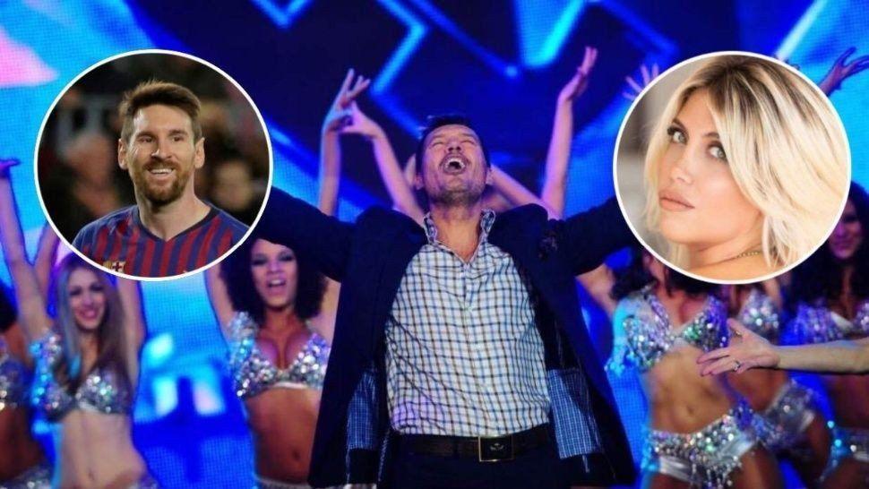 Wanda Nara y Lionel Messi estarán en la apertura del ShowMatch