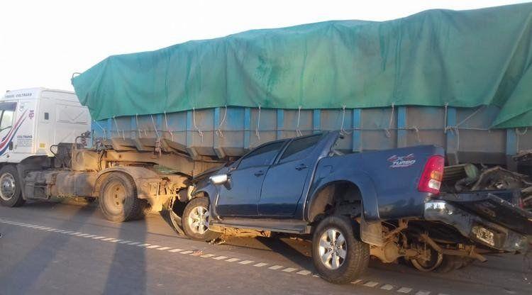 Choque en la autopista: Para el hermano de la víctima el accidente fue intencional