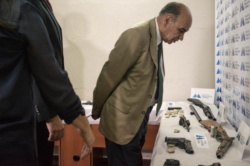 Edmundo Jiménez: se dio un golpe muy importante a la delincuencia