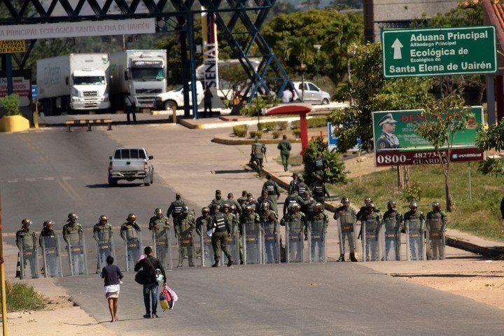 """Anuncian que reabrirán """"lo antes posible"""" la frontera con Brasil"""