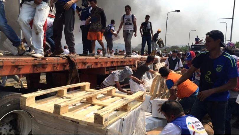 Argentina envía 29 toneladas de alimentos para ayuda humanitaria