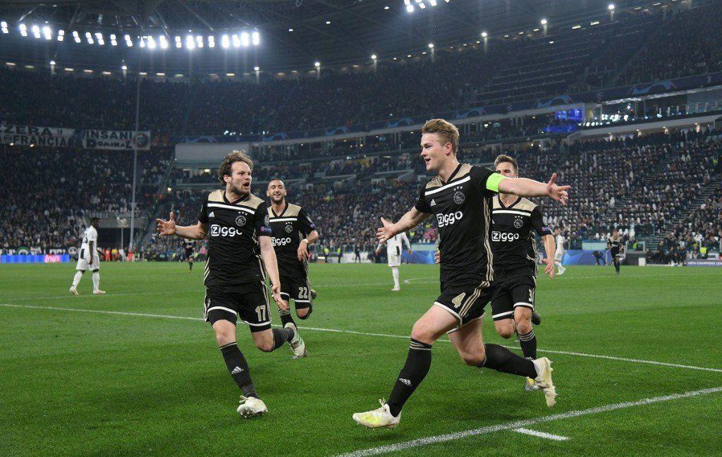 Juventus quedó eliminado de la Champions tras caer 2-1 frente al Ajax