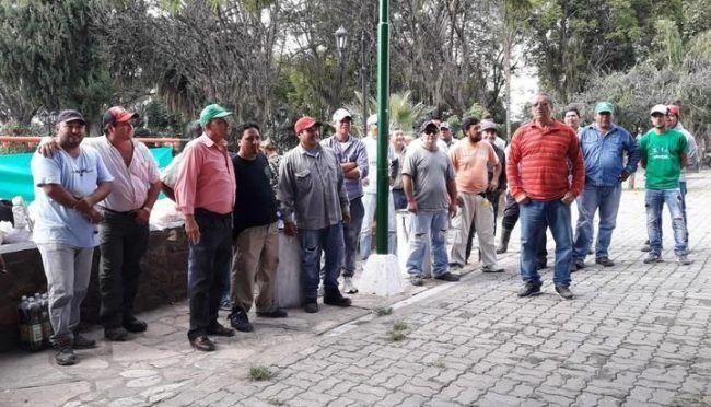 Trabajadores de la comuna de Campo Santo no quieren devolver los sueldos mal liquidados y van al paro