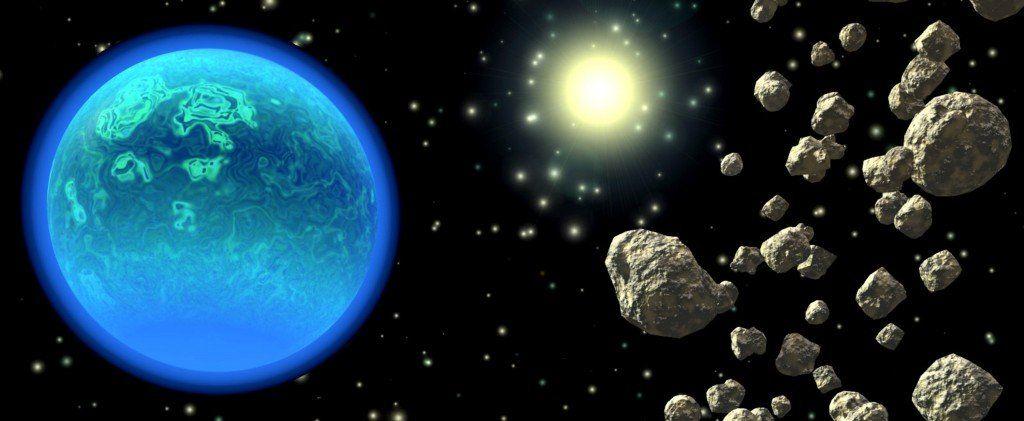 La NASA diseñó estrategias para defender a la Tierra del impacto de asteroides
