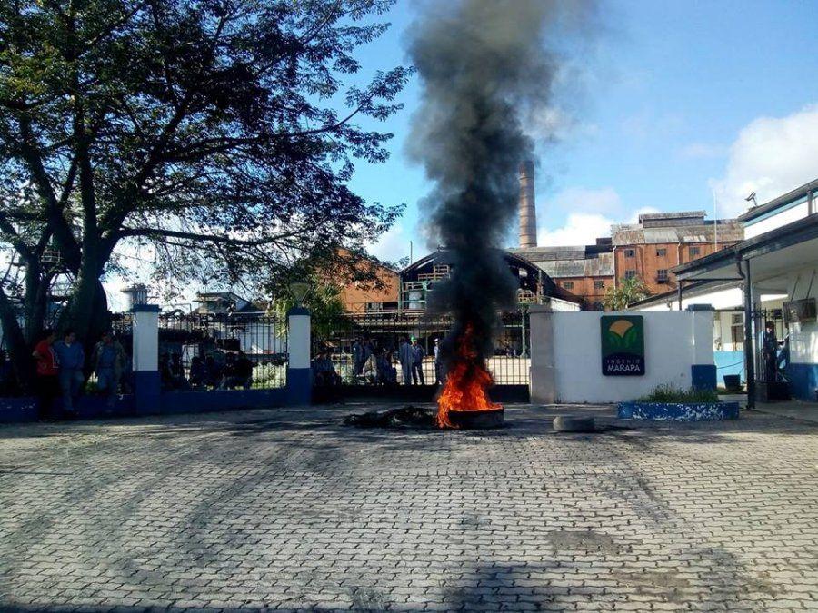Trabajadores del ingenio Marapa protestaron por incumplimiento salarial