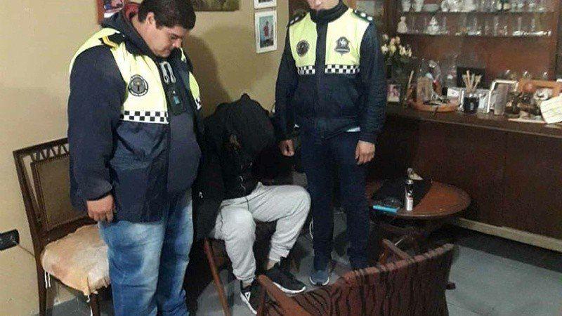 Un delincuente fue detenido en un country por un robo millonario