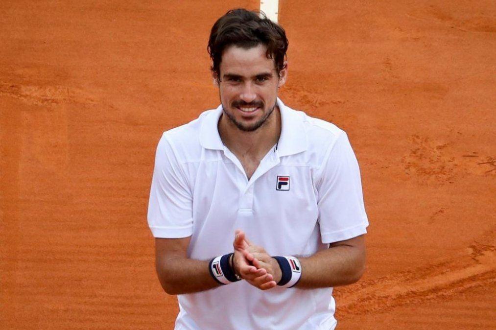 Guido Pella alcanzó los cuartos de final de Montecarlo