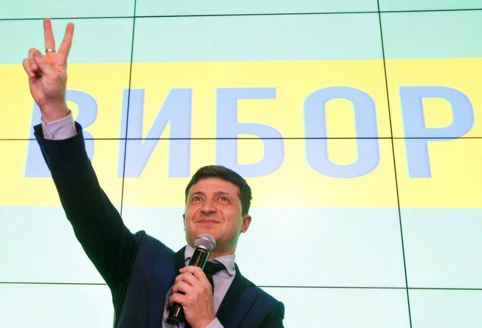 Ucrania: un famoso cómico es el favorito en la segunda vuelta por la presidencia