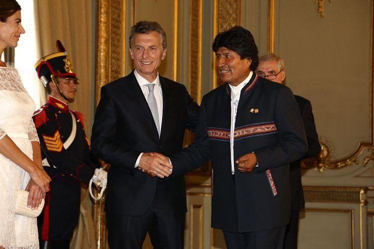 Macri recibirá el próximo lunes a Evo Morales en Olivos
