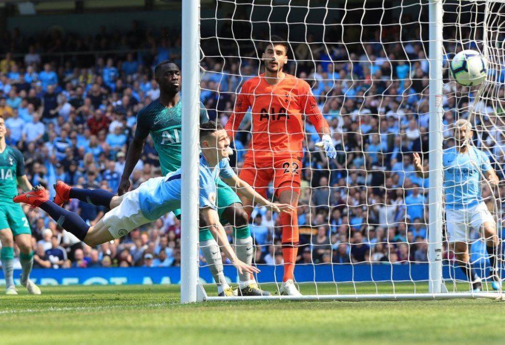 Manchester City le ganó la revancha al Tottenham y es puntero de la Premier