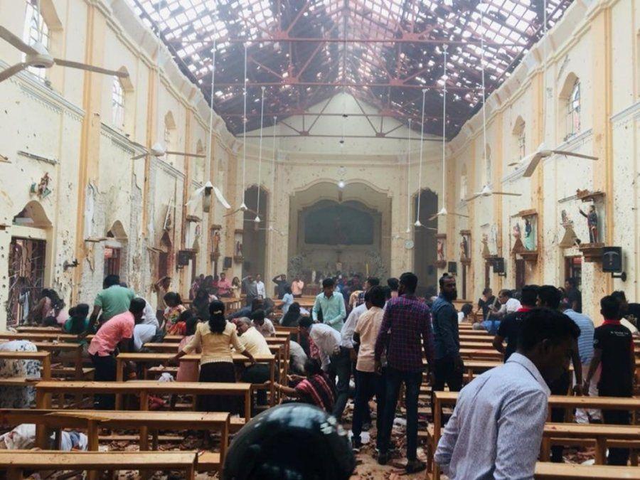 Sri Lanka: más de 200 muertos tras ocho explosiones en iglesias y hoteles