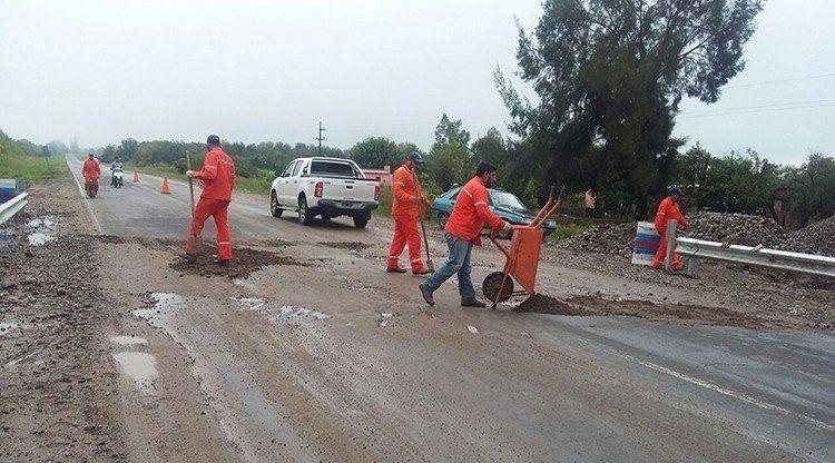 La Cocha: Se registra un corte en la ruta 334 como consecuencia del temporal
