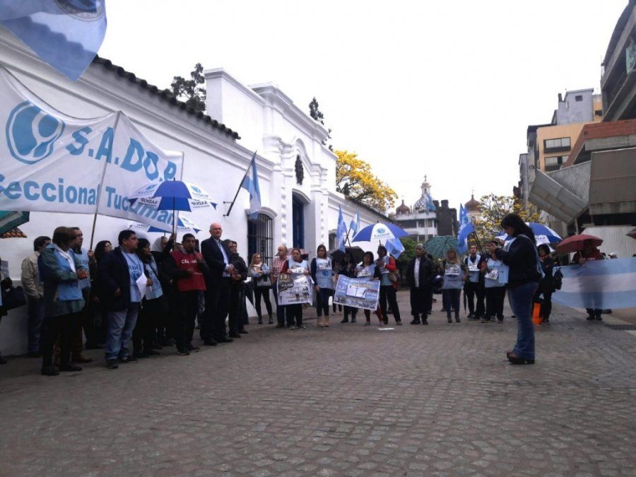 ATEP y SADOP confirmaron su adhesión al paro nacional del 30 de abril