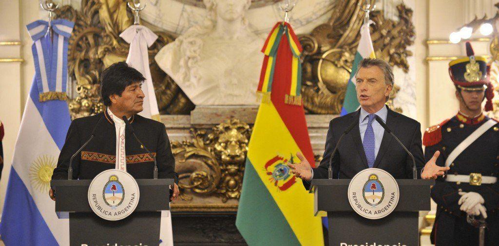 Macri y Morales acordaron avanzar en cooperación en energía y tecnología