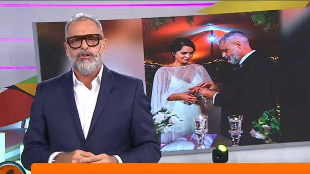 Jorge Rial ya no es el mismo, ahora se define como el emocionado esposo de Romina Pereiro
