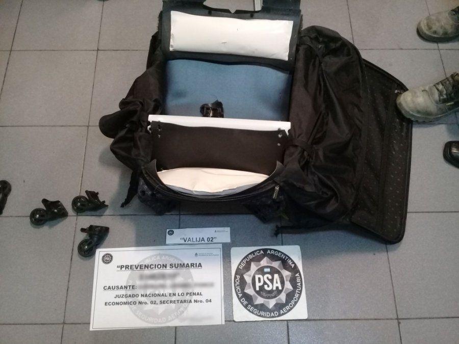 La PSA detuvo a tres personas con casi seis kilos de cocaína