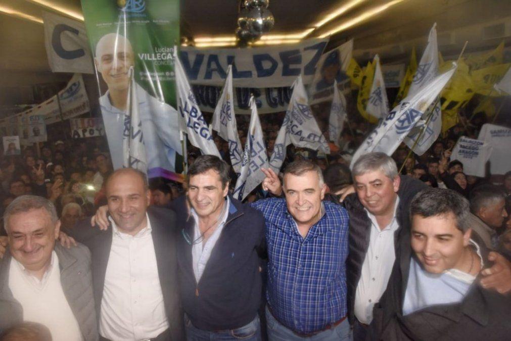 Manzur y Jaldo participaron del acto lanzamiento de Bernardo Racedo Aragón