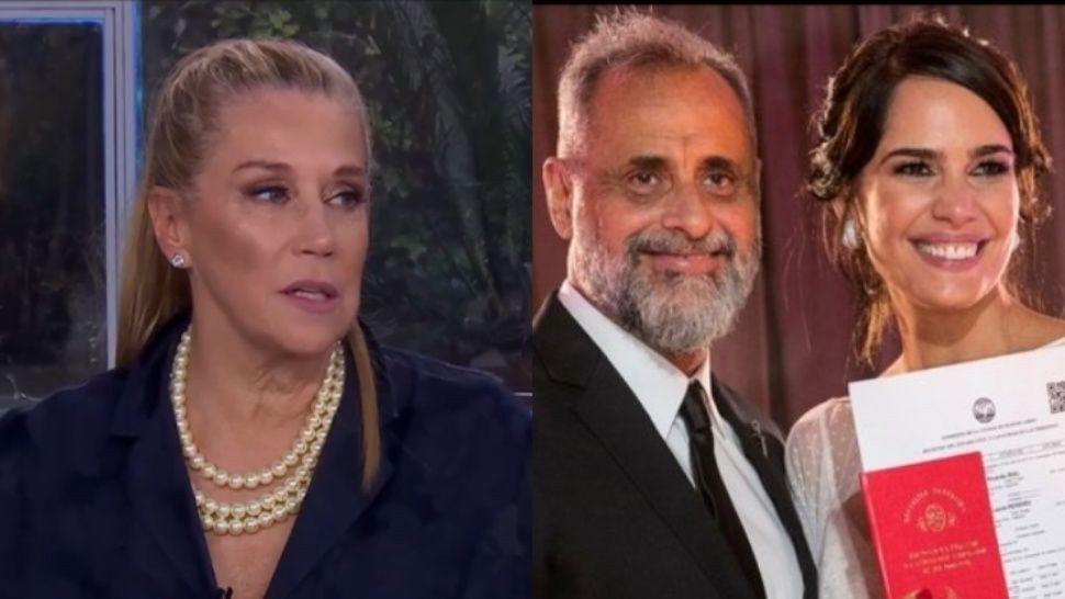 Marcela Tinayre tras la boda de Jorge Rial con Romina: Me encantaría que ella le dé un baño de bondad