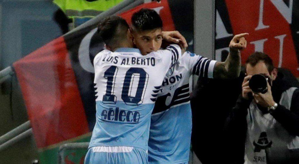 Con gol del Tucu Correa, Lazio accedió a la final de la Copa Italia