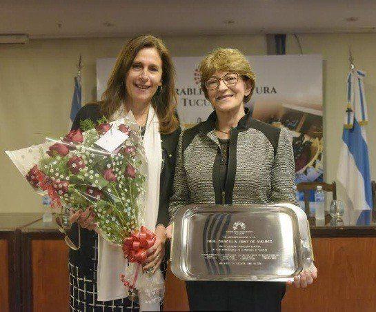 La Legislatura distinguió a la doctora Graciela Font
