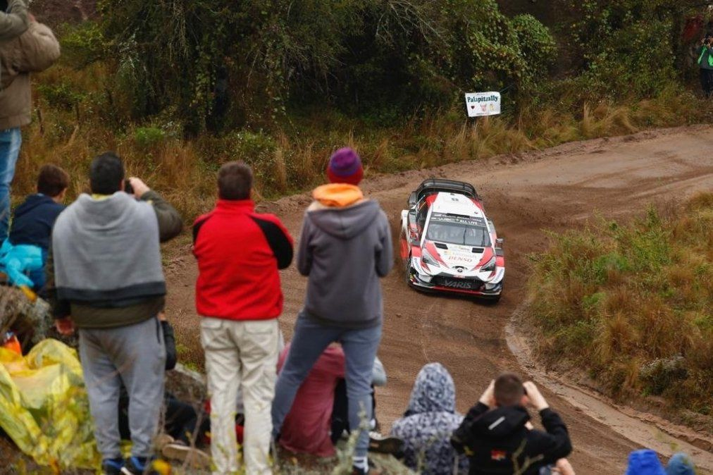 El estonio Tänak se destacó en el inicio del Rally Argentina